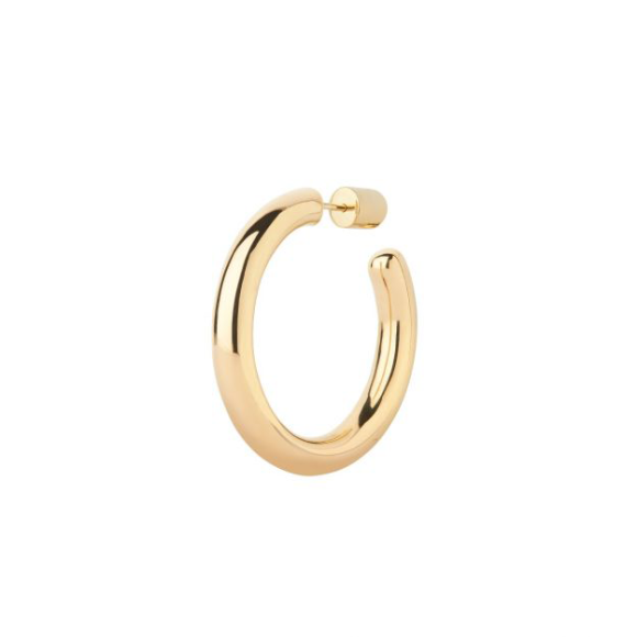Maria Black - Ruby 35 hoop earring gold