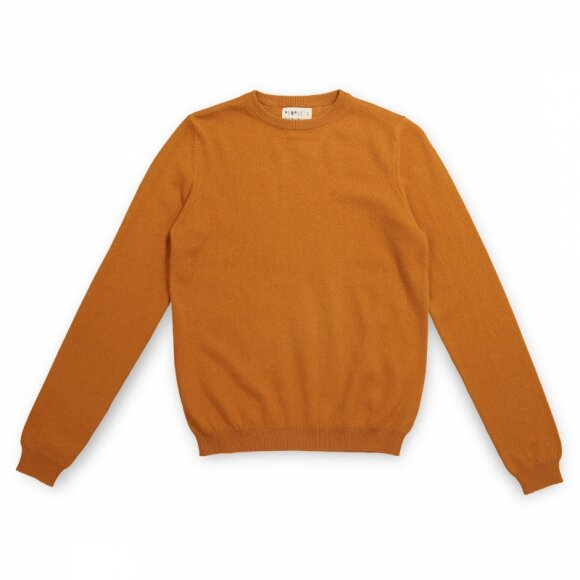 Peoples republic of cashmere - Womens Roundneck Cinnamon