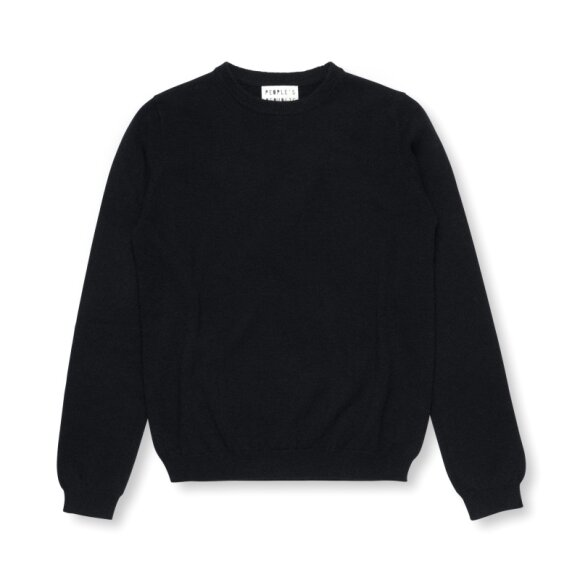 Peoples republic of cashmere - Womens Roundneck Black