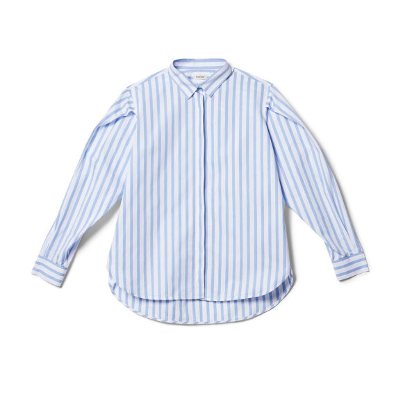 Toteme - Priola Shirt Light Blue Stripe