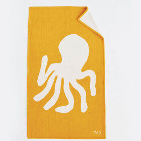 TEKLA - Beach Towel Octupus