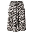 nué notes - Diana Abstract Flower Black