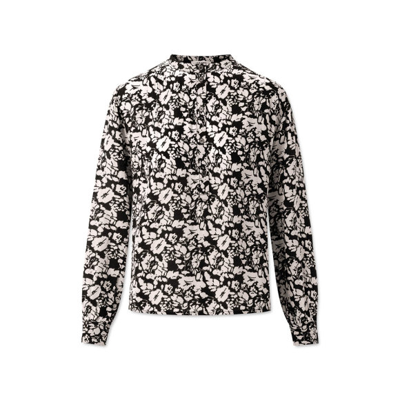 nué notes - Betty Abstract Flower Black