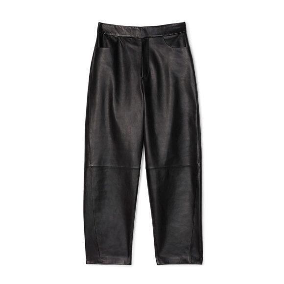 Toteme - Novara Leather Pants Black