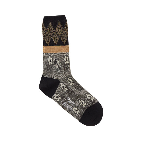 Antipast - Socks Black/Ivory