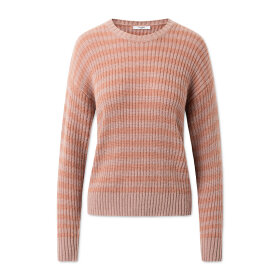 lovechild-1979- - Aiko Striped Knit Frappe