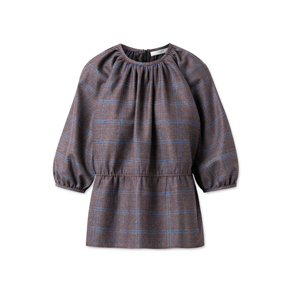 lovechild-1979- - Benito Plana Wool Check Fudge