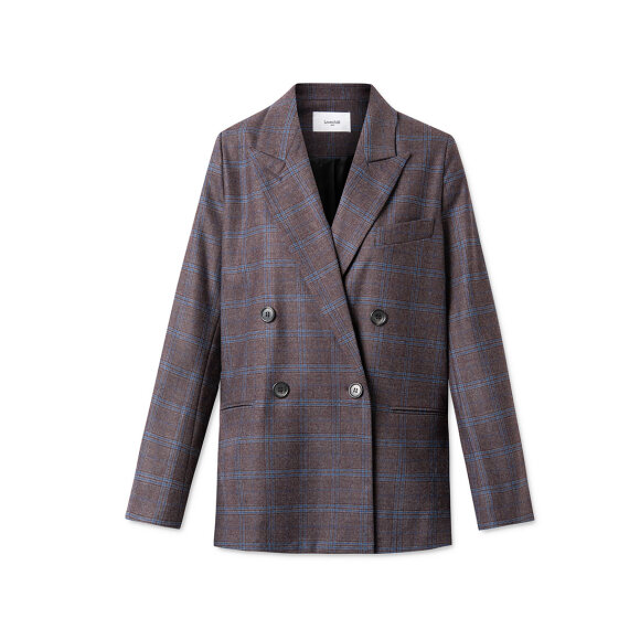 lovechild-1979- - Vincent Plana Wool Check Fudge