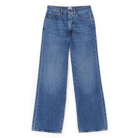 Toteme - Flair Denim Jeans Washed Blue