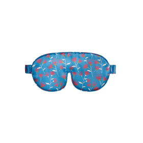 The Beauty Sleeper - Silk Eye Mask Musca Pale Blue