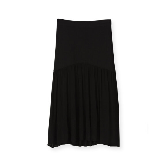 Toteme - Montagu Knitted Skirt Black
