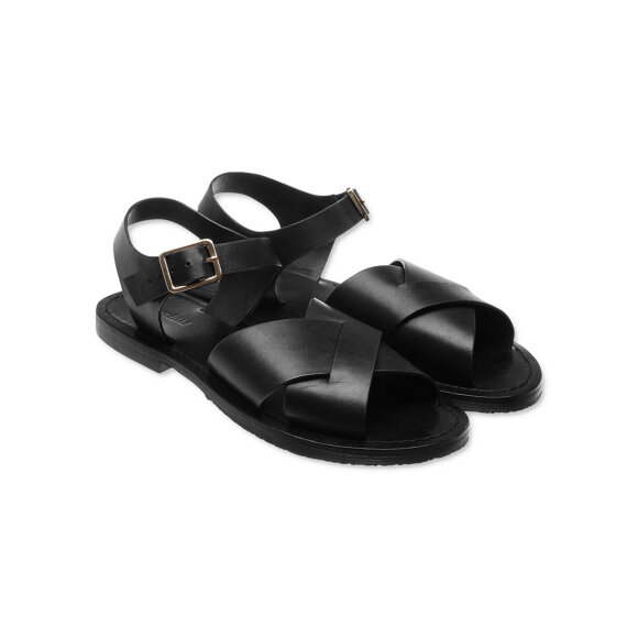 lovechild-1979- - Gilly Leather Sandal Black