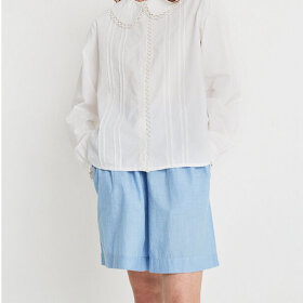 Skall Studio - Calder Shorts Blue Chambray
