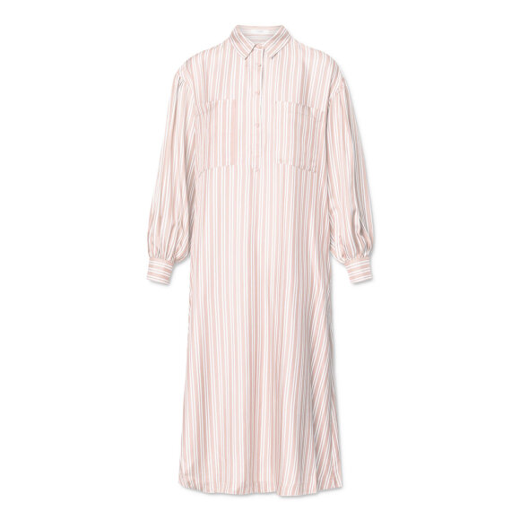 lovechild-1979- - Carin Striped Silk Barely Pink