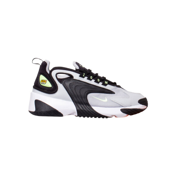 nike - Zoom 2K Black/Barely Volt-Grey