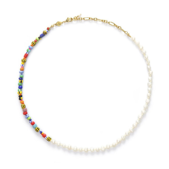 Anni Lu - Pearly Alaia Necklace Gold