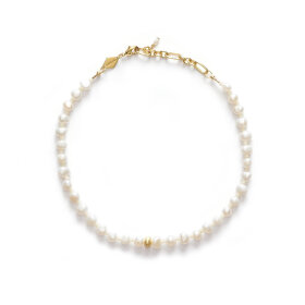 Anni Lu - Stellar Pearly Anklet Gold