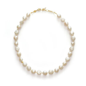 Anni Lu - Stellar Pearly Necklace Gold