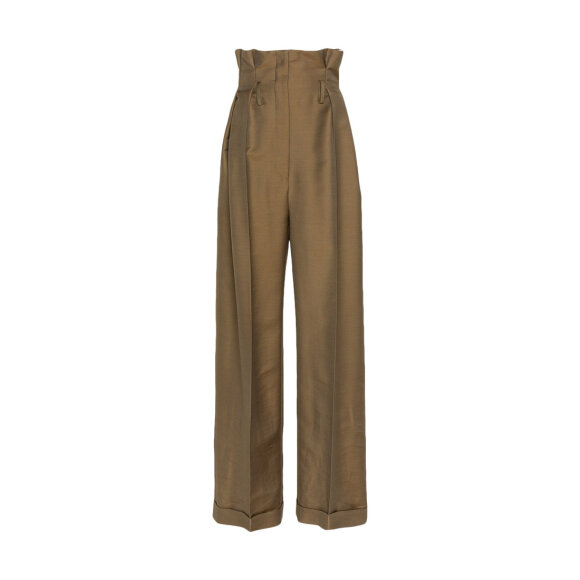 Acne studios - Perrie Twill Trouses Brown