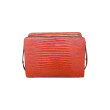Marni - Trunk Reverse Bag Snake Red