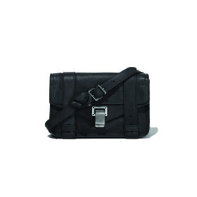 Proenza Schouler PS1 Mini Crossbody Lux Black - Nuécph.com