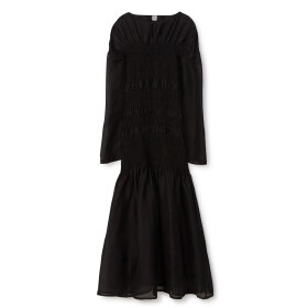 Toteme - Coripe Silk Dress Black