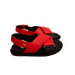 Marni - Fussbett Sandal Red/Black