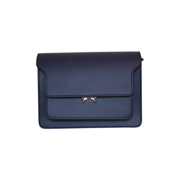 Marni - Trunk Bag Medium Deep Blue