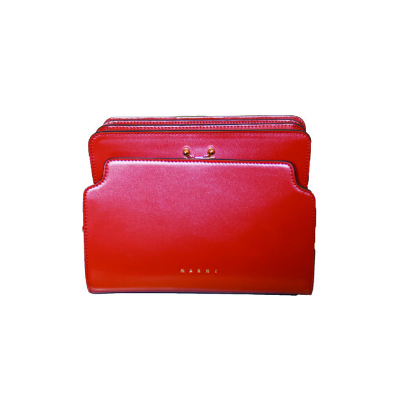 Marni - Trunk Reverse Bag Red