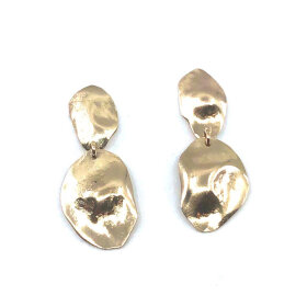 Leleah - Freja Earrings Gold