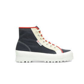 Superga x Ea Pagliaccio - Shoes Navy/Red/Beige