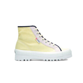 Superga x Ea Pagliaccio - Shoes Yellow/Purple/Navy