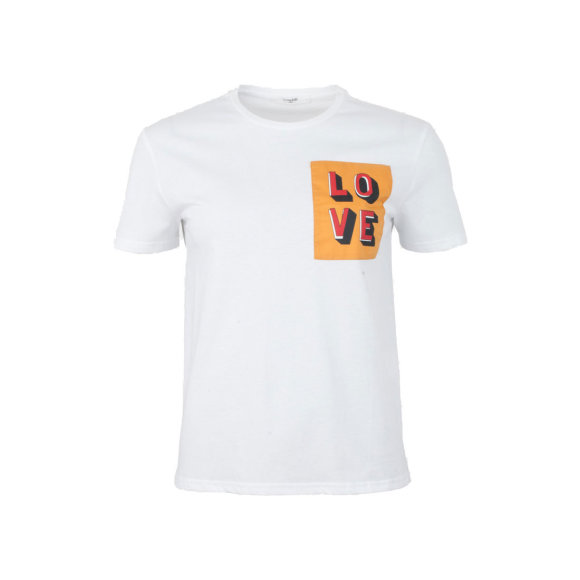 lovechild-1979- - Alma Love Patch Tee White
