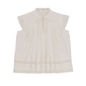 Skall Studio - Daisy Top Light Cream
