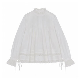 Skall Studio - Daisy Blouse Optic White