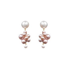 Sophie Bille Brahe - Botticelli Rose Earrings Gold
