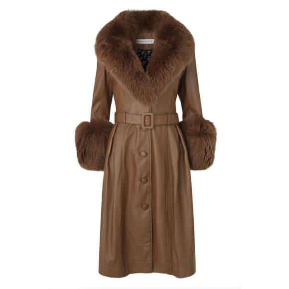Saks Potts - Foxy Coat Walnut