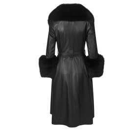 Saks Potts - Foxy Coat Black