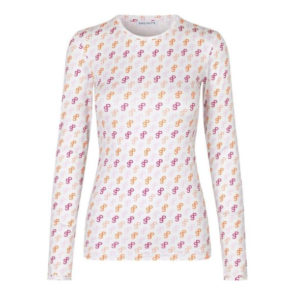 Saks Potts - Saya Blouse SP Pink Print