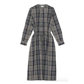 Skall Studio - Fille Shirtdress Brown Check