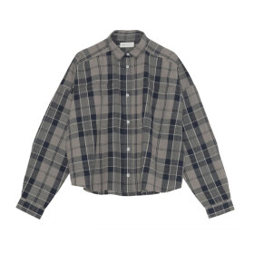 Skall Studio - Karen Shirt Brown Check