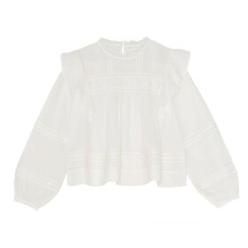 Skall Studio - Jasmine Blouse Light cream