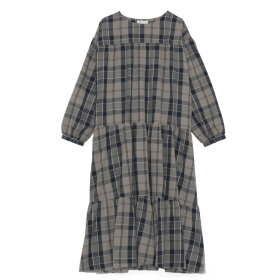Skall Studio - Karen dress Brown check