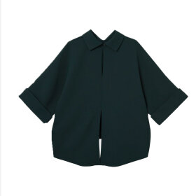 Mark Tan - Bailee Blouse Bottle Green