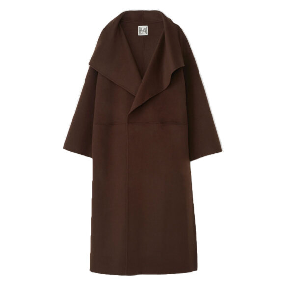 Toteme - Annecy Coat cashmere brown
