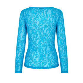 Saks Potts - Crush Blouse Azure blue