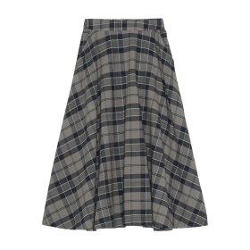 Skall Studio - Caro skirt Brown Check