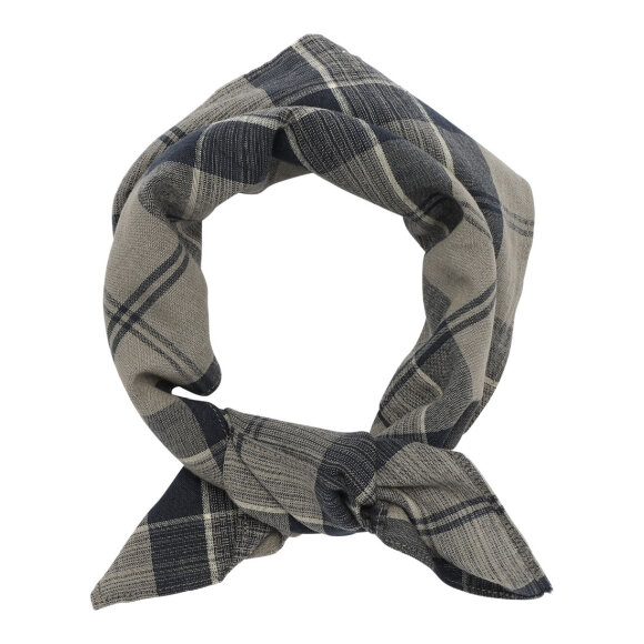 Skall Studio - Karen scarf Brown check