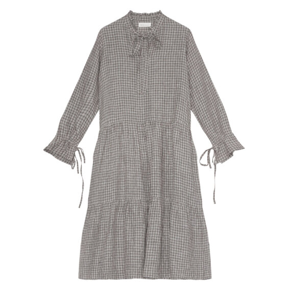 Skall Studio - Margot dress grey check