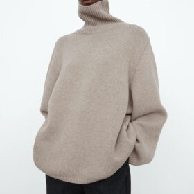 Toteme - Cambridge knit Sweater Sand